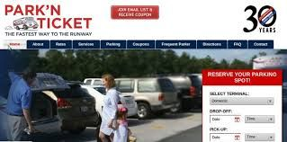 Find the cheapest parking service with Park'N Ticket near Atlanta International Aiport.