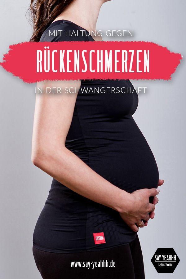 Pin auf Rückenschmerzen in der Schwangerschaft