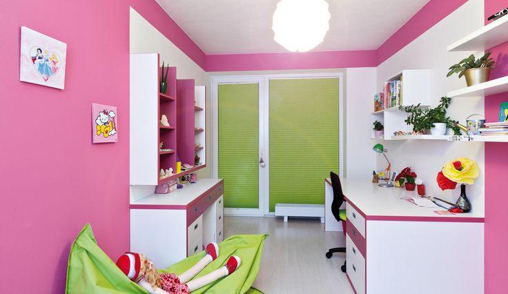 Růžový pokoj pro slečnu