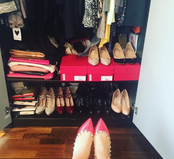 There's always space for roccamore shoes in Line's wonderful closet! ♥