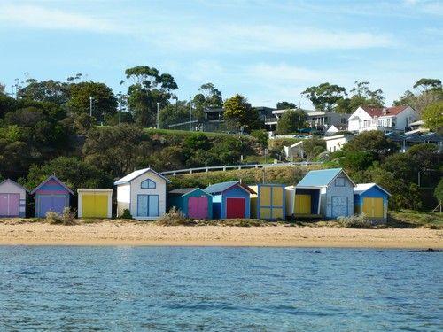 Beach Huts, Ranelagh Beach (2009)