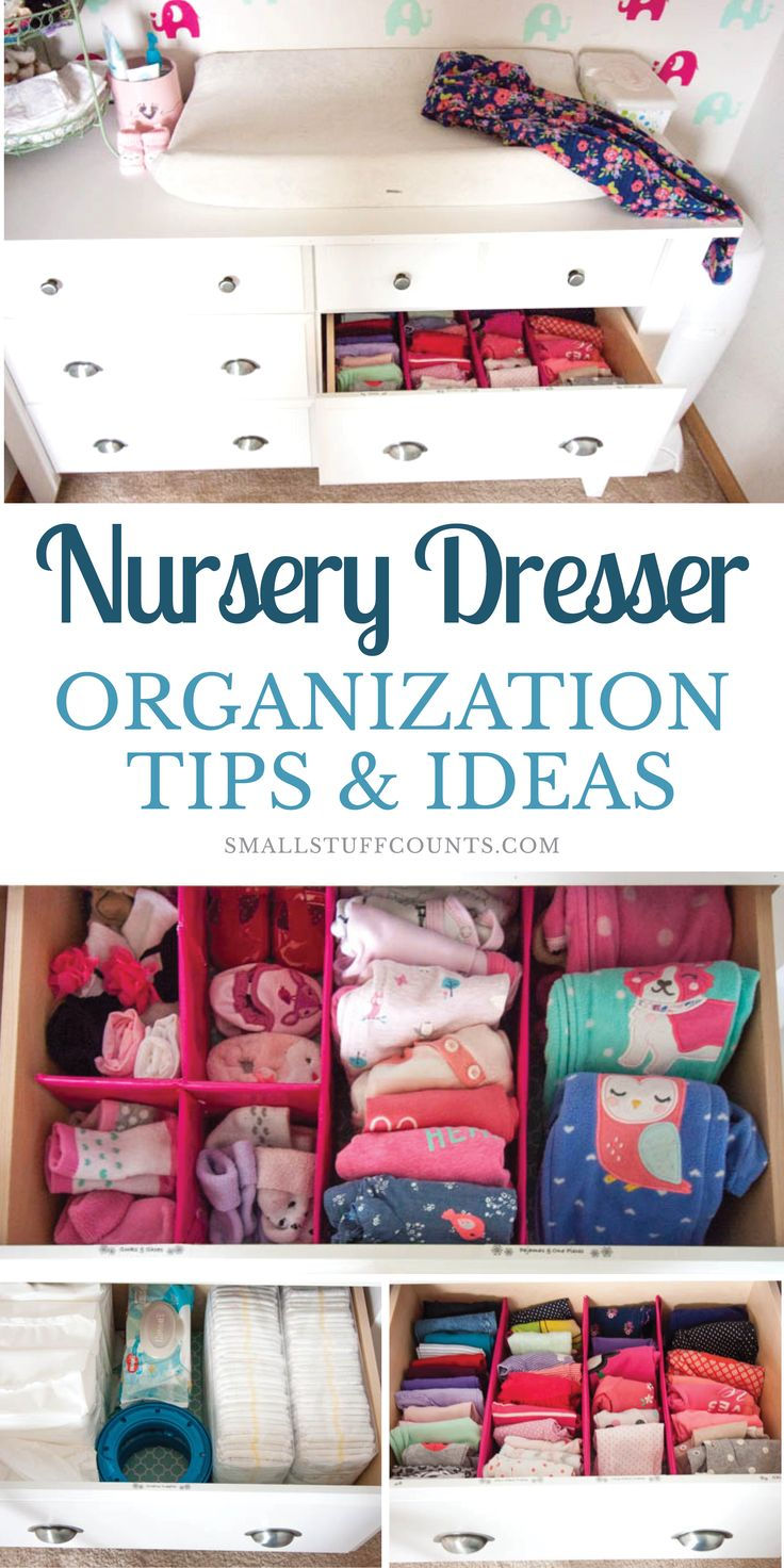 Kinderzimmer Kommode Organisation Ideen – Organization Tips & Productivity Tips