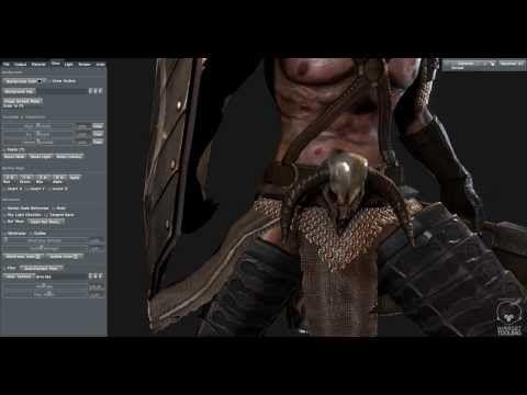 Orc Marmoset Toolbag - HDRI lighting - YouTube