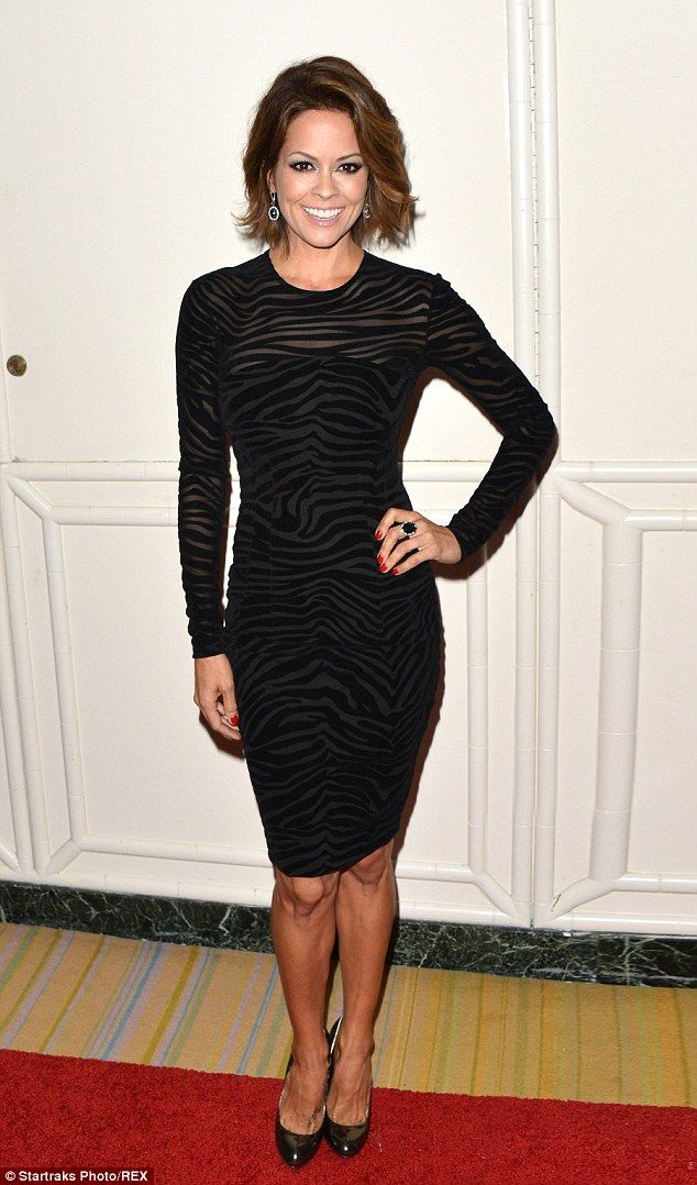 Good cause: Brooke Burke-Charvet attends the Operation Smile Gala at the Beverly Wilshire in Beverly Hills on Friday