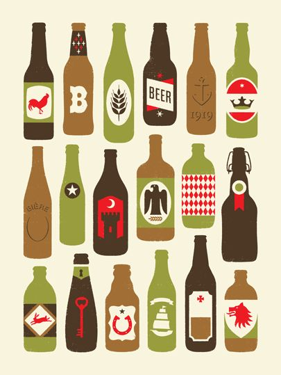 Beer poster by Doublenaut