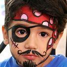 Vídeo paso a paso: Pintacaras de Pirata para niños Aprende cómo hacer un maquillaje de pirata