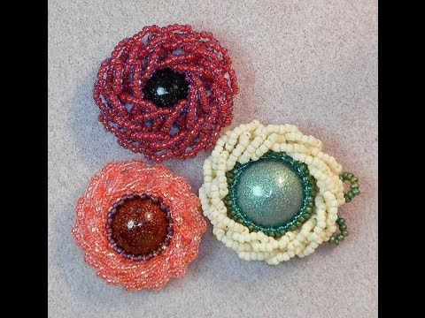 http://www.beadaholique.com/c-61319-beading-foundation-materials.aspx - In this video, learn the basic technique for a free form method of bead embroidery th...