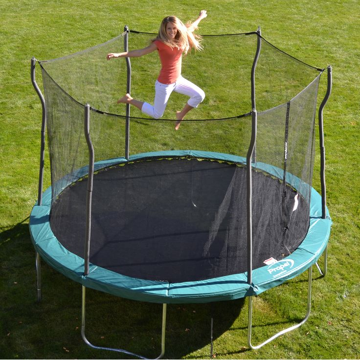 Propel Trampolines 12' Trampoline With Enclosure $194.99 - http://www.pinchingyourpennies.com/propel-trampolines-12-trampoline-with-enclosure-194-99/ #Trampoline