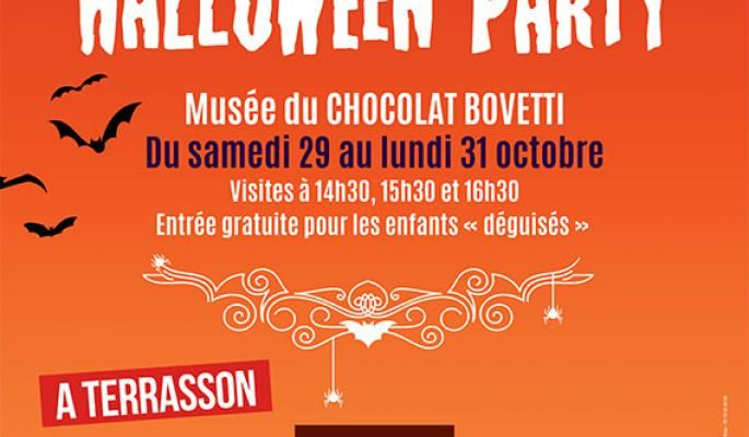 HALLOWEEN PARTY A LA CHOCOLATERIE BOVETTI