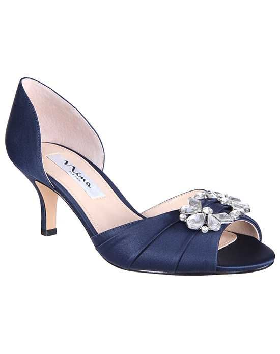 6804ede1bf7 Nina Bridal Wedding Accessories Charisa Blue Shoe