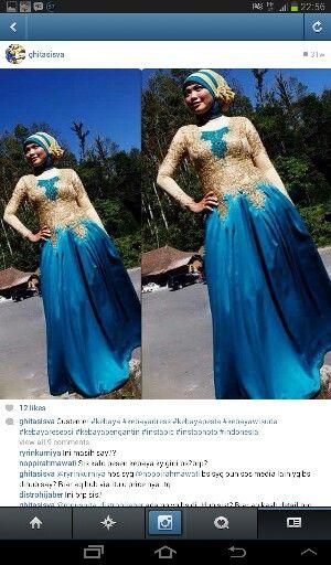 #kebaya brokat dress indonesia