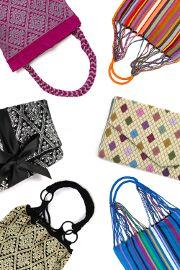 Wunderschöne handgewebte Taschen und Clutches aus Mexiko bei HUMMEL&WOLF #hummelundwolf #schmuckmitgeschichte  #fairtrade #fairfashion #handgemacht