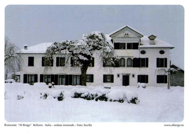 Ristorante al Borgo Villa Doglioni Belluno Dolomiti Veneto Italia