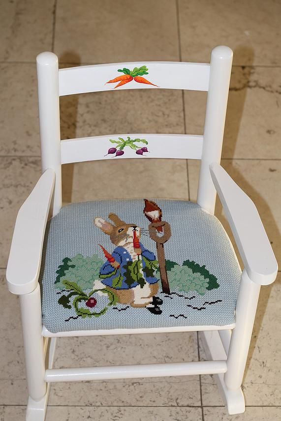 Kate Dickerson Needlepoint (both chair & canvas are available)