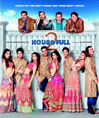 Director Sajid Khan's movies always receive the worst reviews but manage to click at the box office in a big way. The pattern seems to have been repeated with his latest release 'Housefull 2'.......http://bgm.me/r/1564922