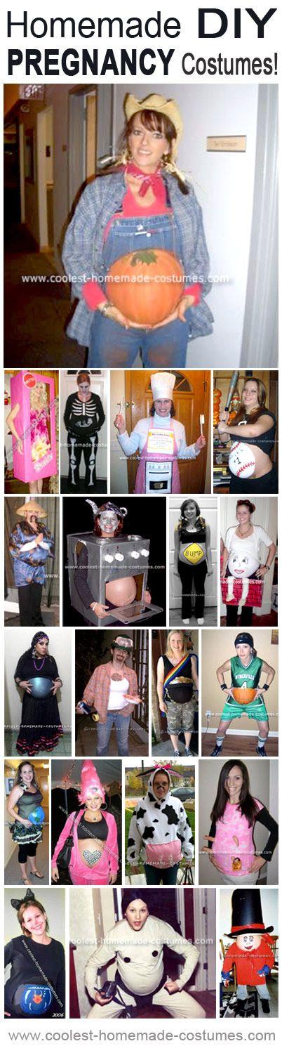 Coolest Homemade Pregnancy Halloween Costumes... Enter the Coolest Homemade Costume Contest at http://ideas.coolest-homemade-costumes.com/submit/