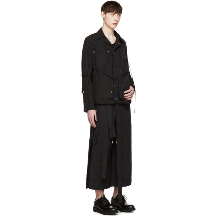 Craig Green - Black Workwear Shell Jacket