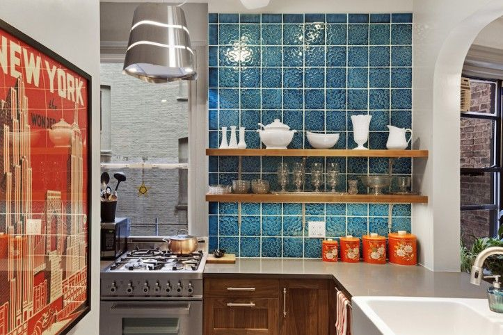 Go bold this year with a brighter-than-neutral hue! These 5 kitchens will show you how it's done.
