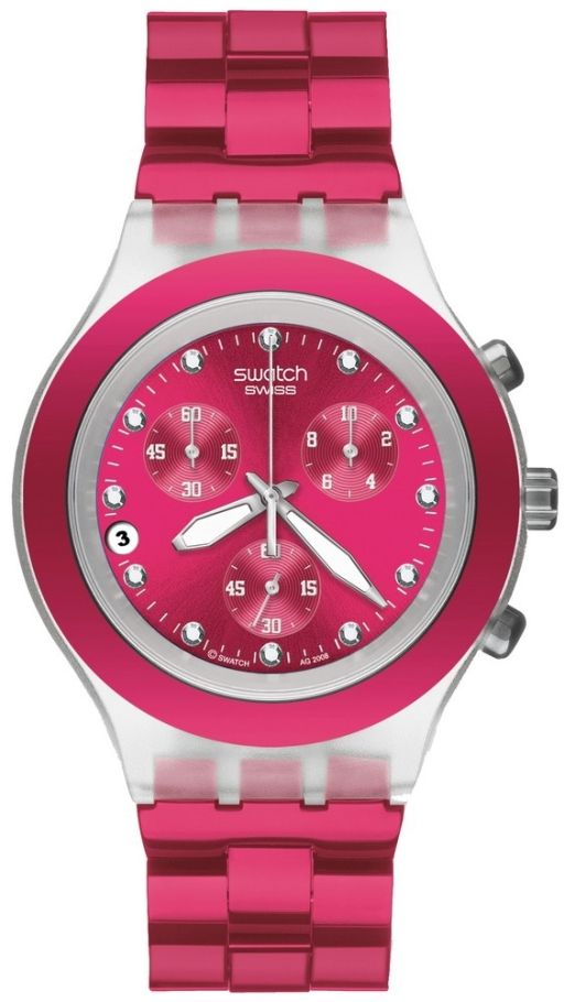 $121 #SampleBoard Pink Watch, Swatch Watches