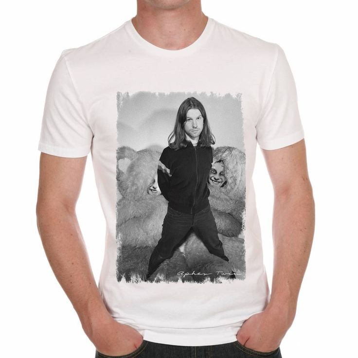 Aphex Twin DJ Techno House Music Men's T-shirt ONE IN THE CITY