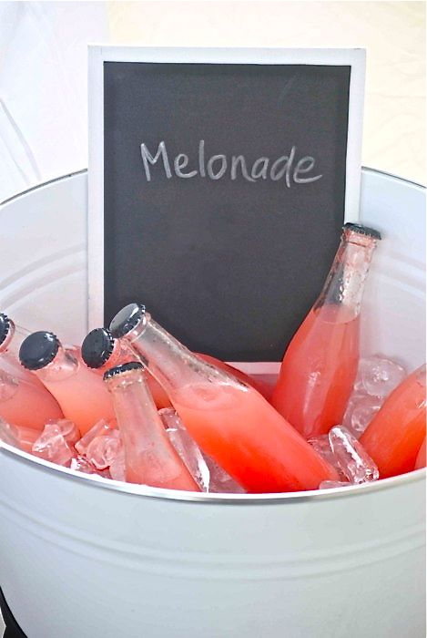 Melonade: Beverage, Summer Drinks, Lemonade, Recipes, Yum, Food Drink, Things, Party Ideas