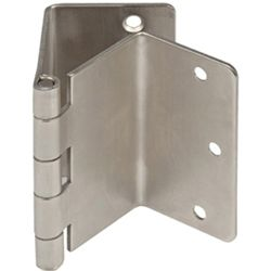satin nickel finish    Adds 2 inches additional clearance to doorways.