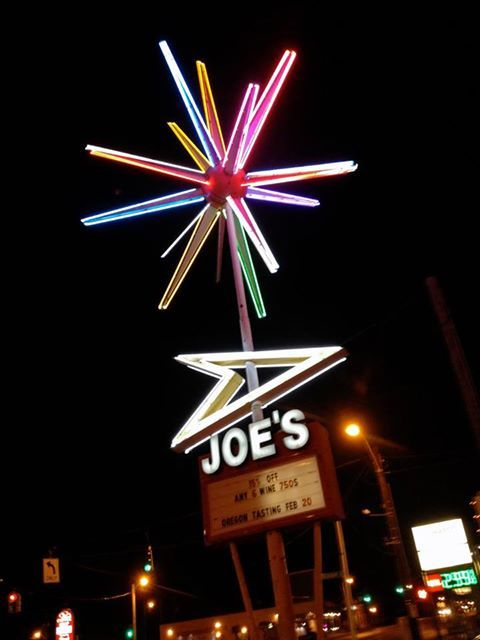 'The ROTO-SPHERE at Joe's Liquor In Memphis!!! ... This spellbinding space age sign topper ... spinnning in threee directions at once ... is one of a few survivors of the 235 made between 1960 and 1971 !!! ... its BIIIG too ... bout 18' from tip to tip !!!' - via Charles Phoenix