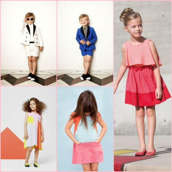 aktuelle modetrends 2015 festliche kindermode