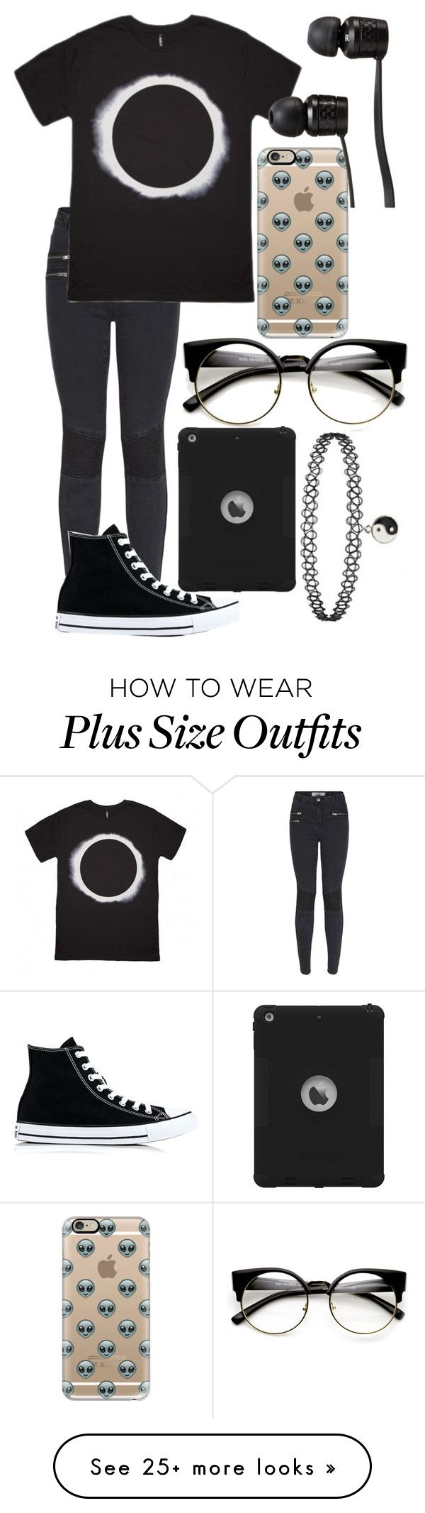 """""""Untitled #778"""" by mriss-abbrie on Polyvore featuring New Look, Casetify, Converse and Vans"""