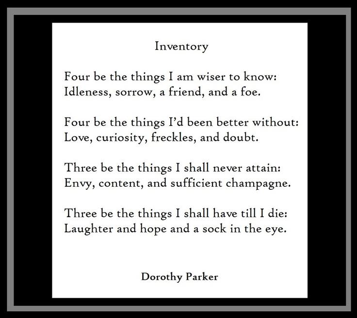 25 best Dorothy Parker images on Pinterest Dorothy parker - resume by dorothy parker