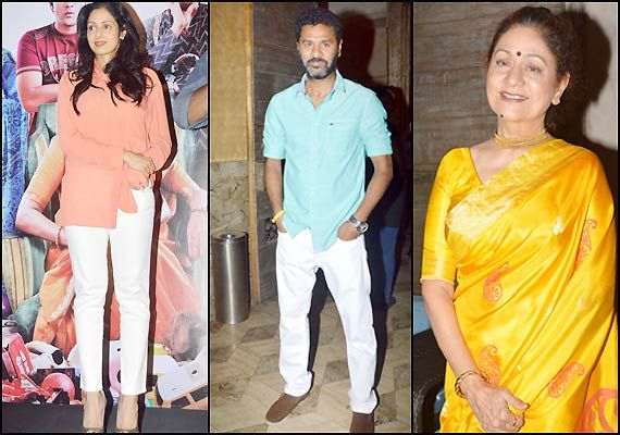 Sridevi, Prabhu Deva, Aruna Irani grace the music launch of 'Bol Baby Bol' (see pics)
