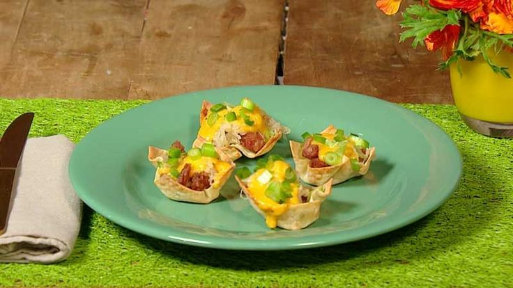 Briana Bridger can't watch a football game without these. Brat and Beer-Cheese cups seen on Rachael Ray.