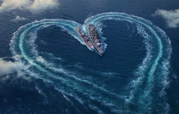 Pin By Nelson On Hearts World Of Warships Wallpaper Heart In Nature Warship
