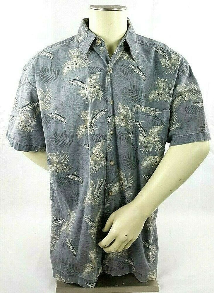25c634a8ff2 Wolverine Boots and Gear Men's Shirt Size XL Short Sleeve Marlin ...