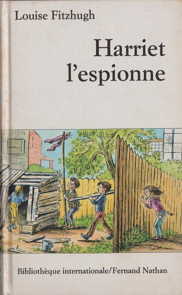 Louise Fitzhugh, Harriet l'espionne. Illustration de Mette Ivers