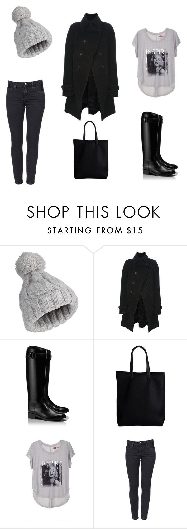 Casual by leenap on Polyvore featuring Junya Watanabe, Tory Burch, Pieces and Miss Selfridge