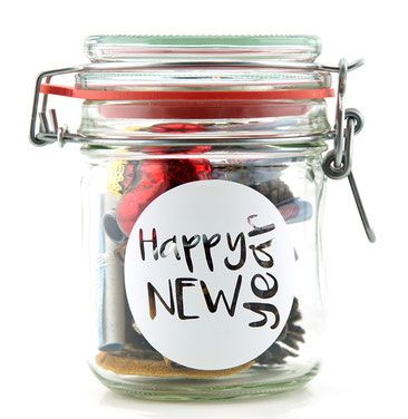 Glas Happy New Year