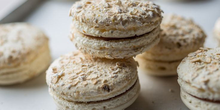 Graham Hornigold presents his fabulous recipe for dulce de leche macarons - made from sheep's milk to celebrate Chinese New Year