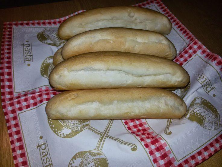 Betti gluténmentes konyhája: Bagett vagy hot dog kifli