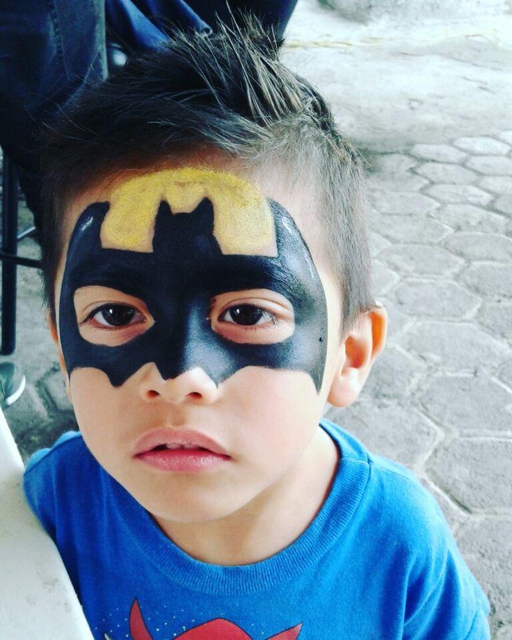 Pintacaritas Batman niño