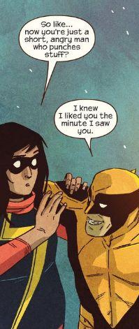 Ms. Marvel #6 - Wolverine and Kamala