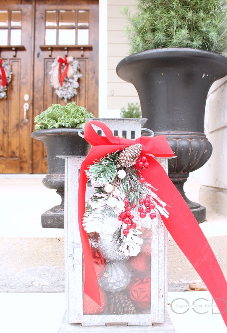 Christmas Front Porch HolidaysChristmas DecorMerry ChristmasXmasRustic ChristmasChristmas IdeasModern Farmhouse