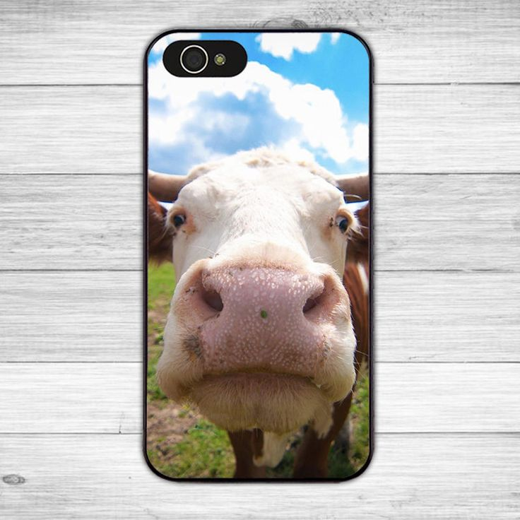 Adorable cow funny hard cell phone case cover for iphone 7