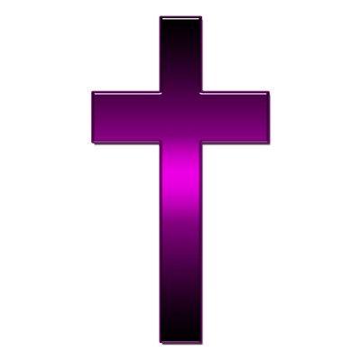 Would you believe I found a purple cross?