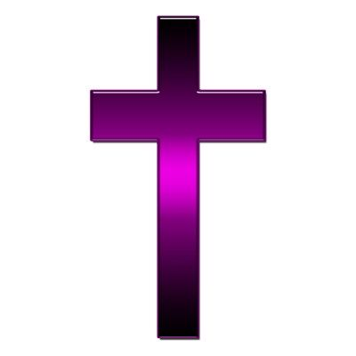 Would you believe I found a purple cross?