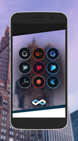 Infinite Dark Icons - Nova/GO v1.2   Infinite Dark Icons - Nova/GO v1.2Requirements:4.4 and upOverview:BRAND NEW New icon pack with plenty of guaranteed support and continuation for the future  THEME UNTHEMED ICONS Icon backing will theme all unthemed icons to provide a uniform look across all icons GRADUAL UPDATES As of now App will be updated at least fortnightly to monthly PLEASE REQUEST To improve this pack for both you and others please request missing icons in-order for me to update…