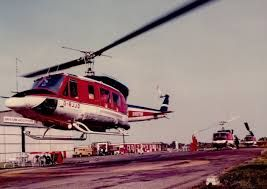 Bell 212. The taxi of the North Sea