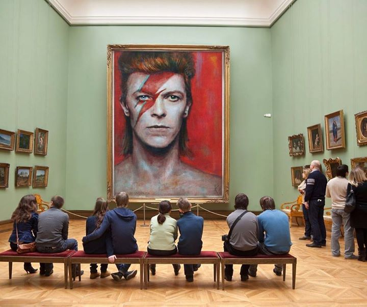 Museum - art - David Bowie >>>I could stare at it allll day!!!