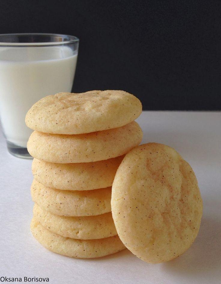 """Предлагаю попробовать вкусное печенье """"Сникердудль"""" обкатанное в сахаре с корицей с приятным  ароматом!!!    Для теста:  2+1/2 стакана м..."""