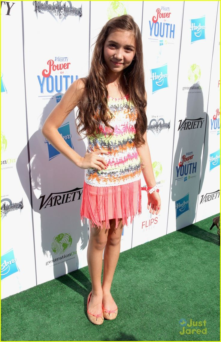 Rowan Blanchard: Power of Youth 2013